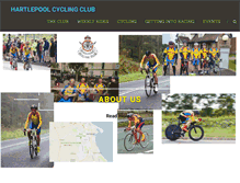 Tablet Preview of hartlepool-cycleclub.org